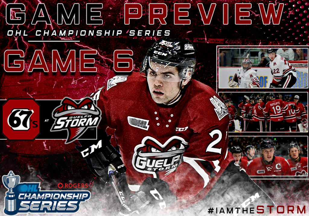 Ohl Championship Series Game 6 Preview Ottawa 67 S At Guelph