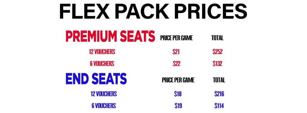 Flex pack Prices
