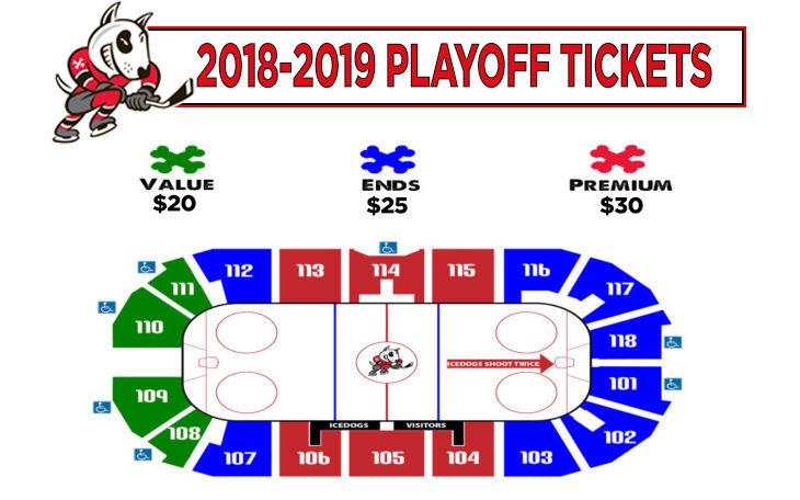 Playoff Individual tickets - Rnd 2