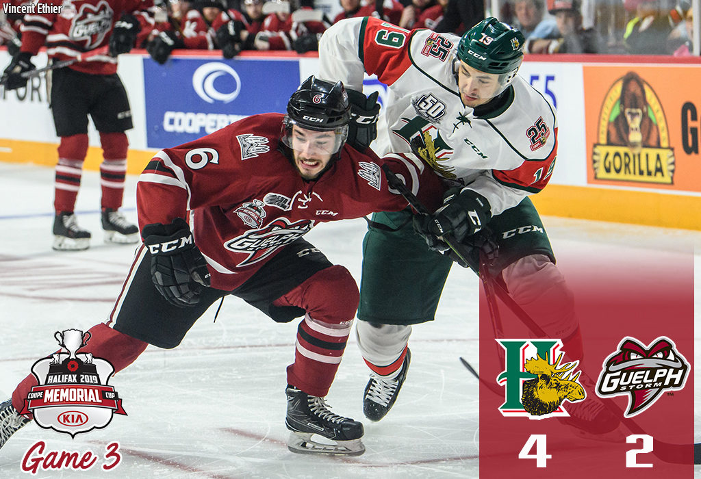 Storm Comes Up Short In 4 2 Loss To Halifax Guelph Storm
