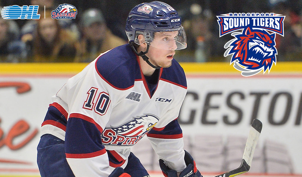 Spirit Graduate Justin Murray Signs Ahl Contract With Bridgeport
