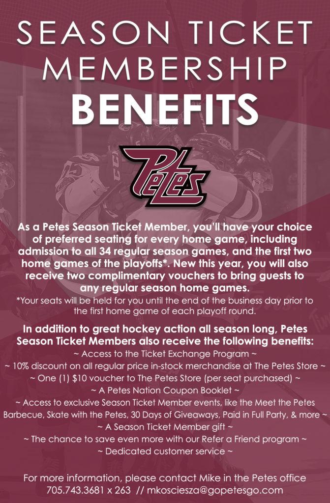 3 - Season Ticket Benefits Full Page 2019-20