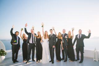 Robinson wedding in Santorini, Greece