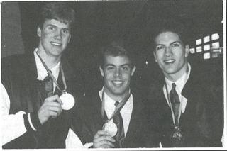 Chris Pronger, Jason Dawe, Brent Tully