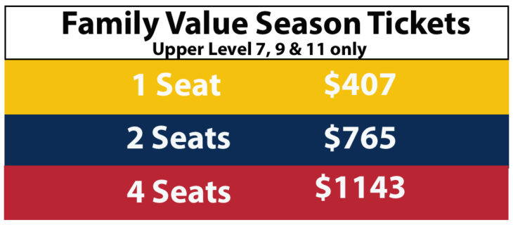 19-20 Family Value Tickets