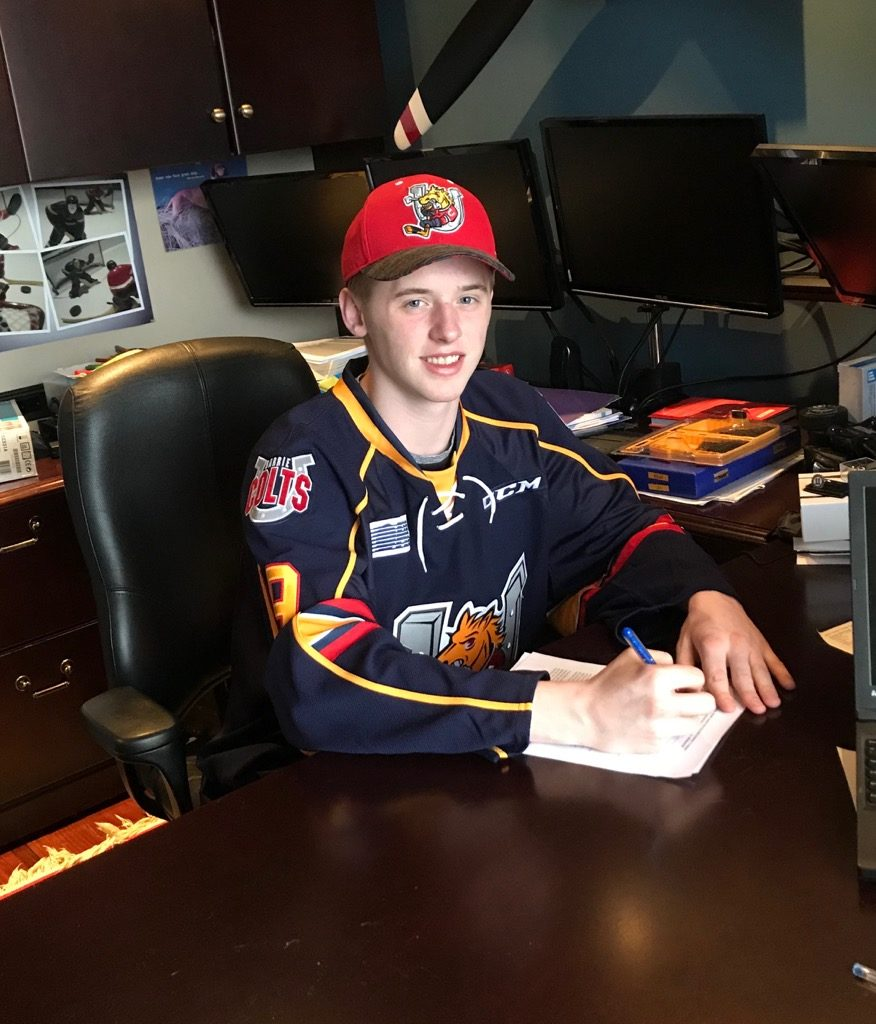 Clarke Signing