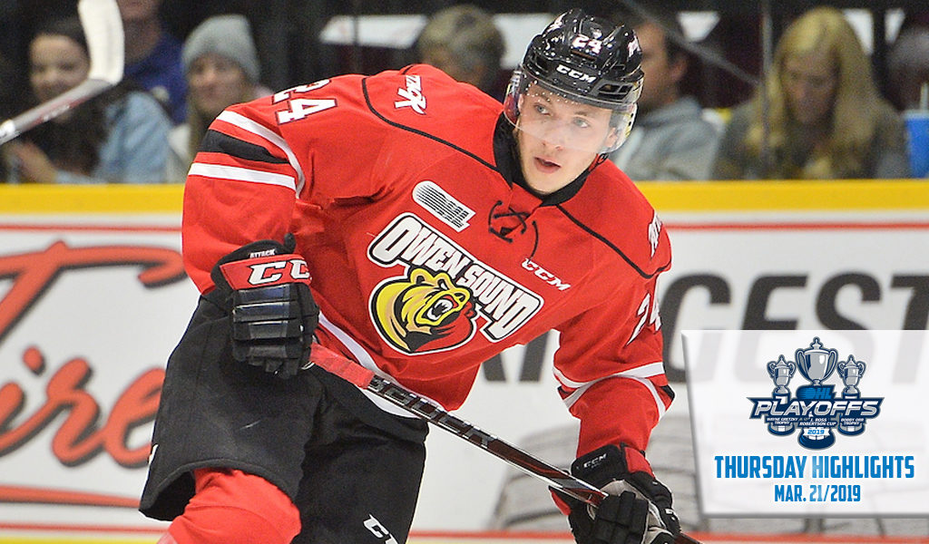 Thursday Highlights  Sushko shines as Attack strikes first – Ontario Hockey  League dd32189f1