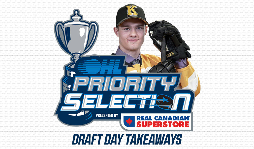 401fa58fd7b 2019 OHL Priority Selection Draft Day Takeaways – Ontario Hockey League