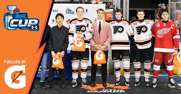 21f84215796 Six players have been named to the 2019 Gatorade OHL Cup All-Star Team, a  selection of the annual showcase's top performers as chosen by OHL Central  ...