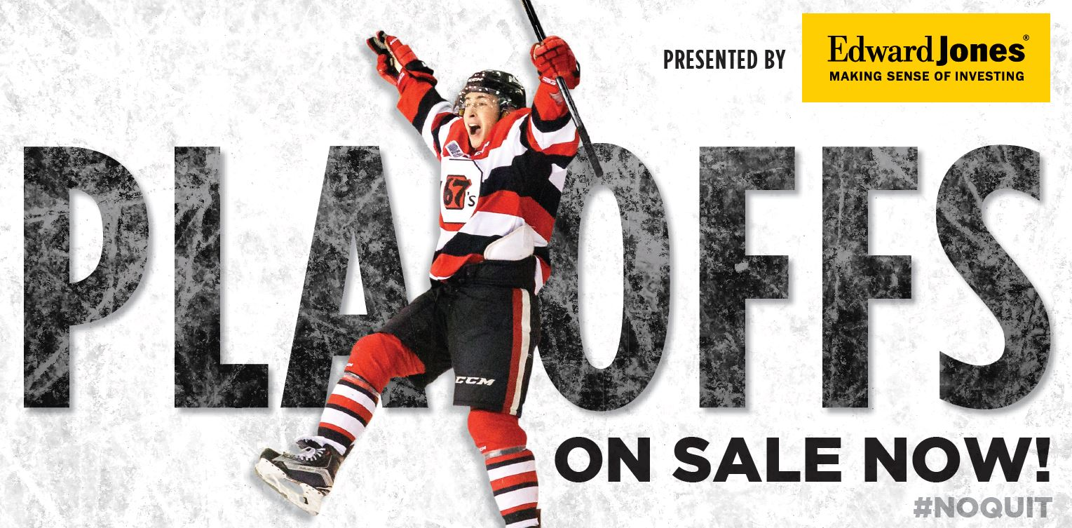 2019 Playoff Tickets - Ottawa 67s