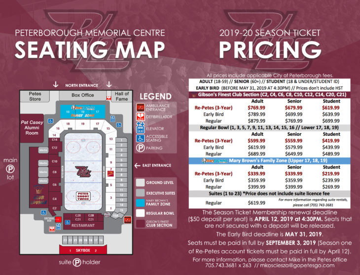 4 - 2019-20 Season Ticket Book Seating Map